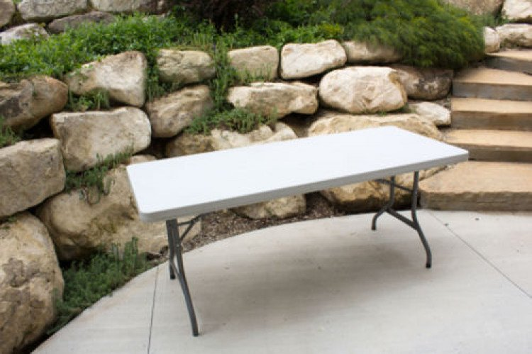 6 Foot Banquet Tables Seats 6 to 8