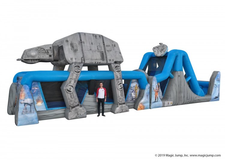 Star Wars Obstacle Course & Waterslide